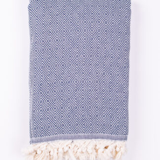 Artisan, Herringbone Peshtemal Throw - Cotton Blanket