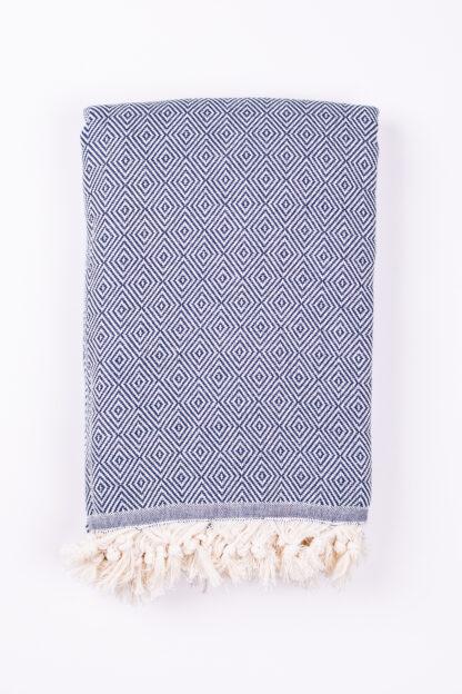 Artisan, Herringbone Peshtemal Throw - Cotton Blanket