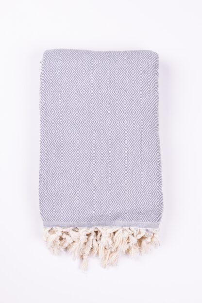 Herringbone Peshtemal Throw - Cotton Blanket